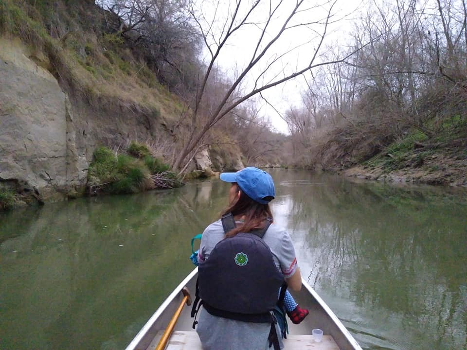 The Fisher family paddling the SASPAMCO paddling trail and shared their experience on our blog.
