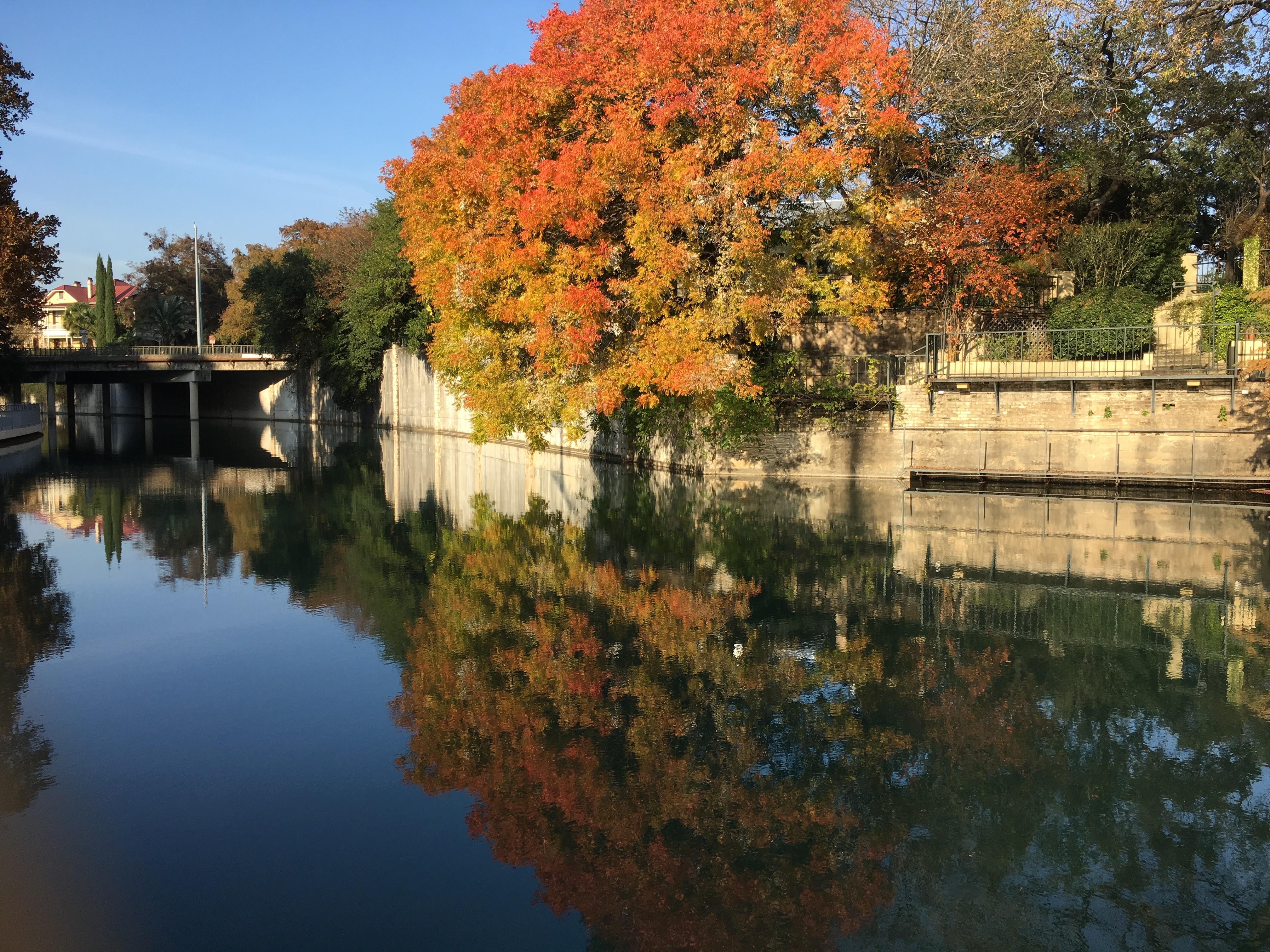 San Antonio River on the King William District
