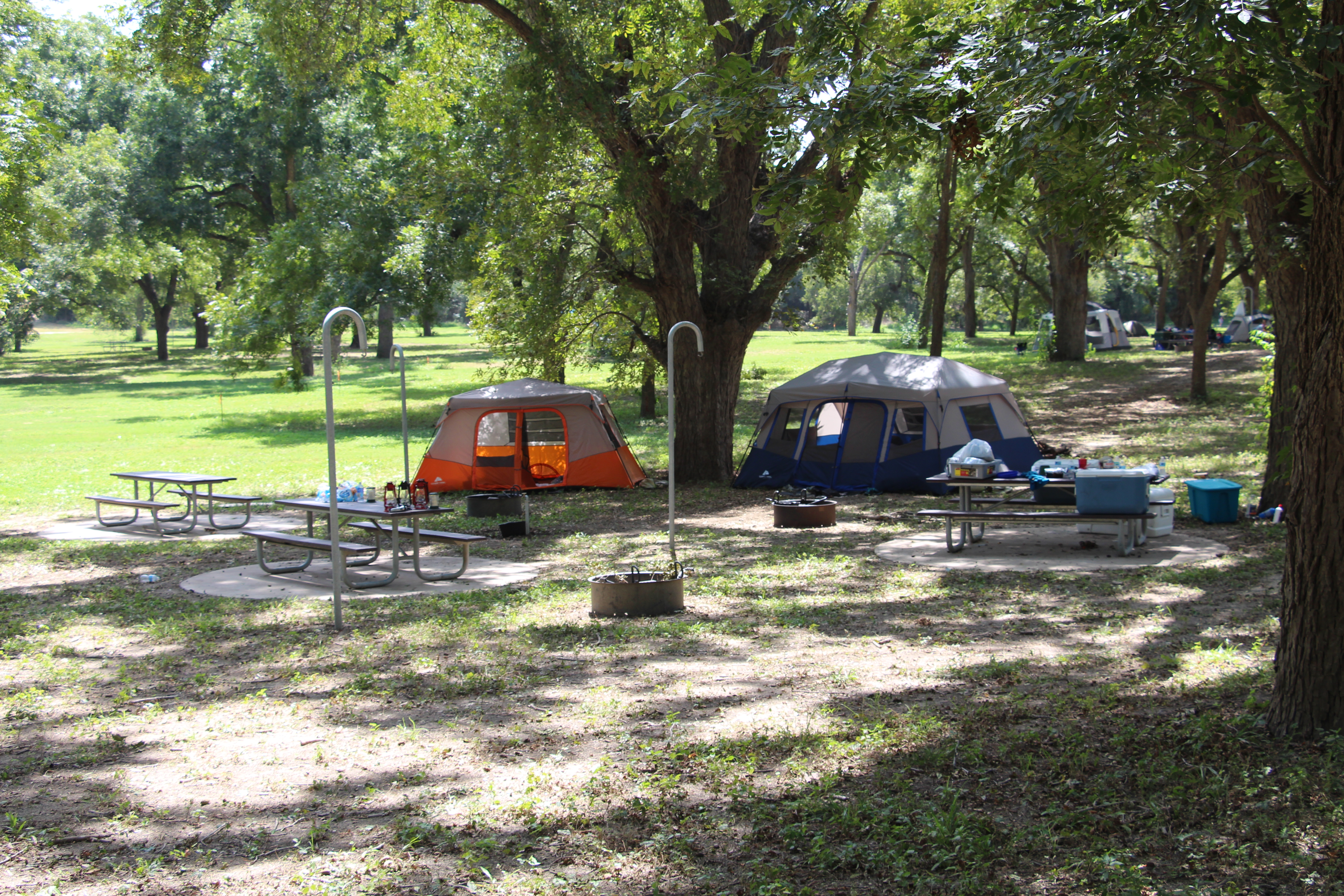 Camping at John William Helton Nature Park