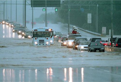 In 1998, San Antonio suffered a 1-Percent Annual Chance Flood Event (also known as a 100-year flood).