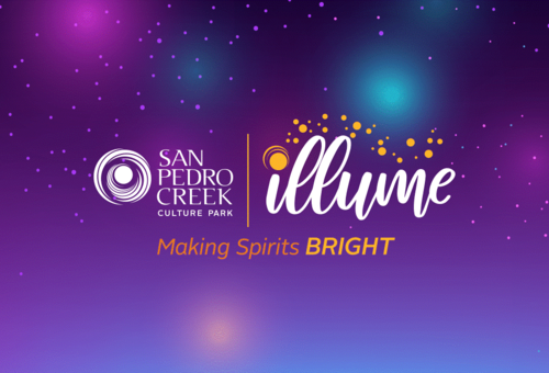 San Pedro Creek Culture Park's Illume logo