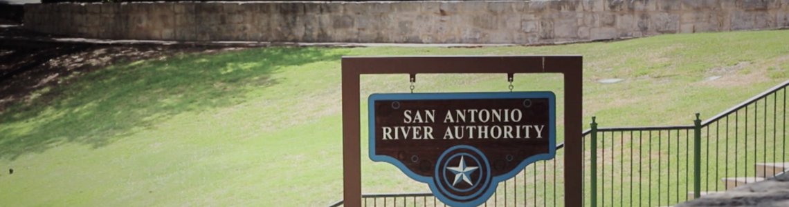 About - San Antonio River Authority Sign