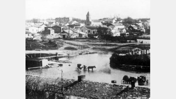 1851 flood of San Antonio