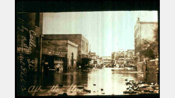 1921 flood in San Antonio