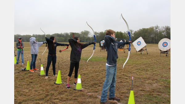 Archery and events at Helton Park