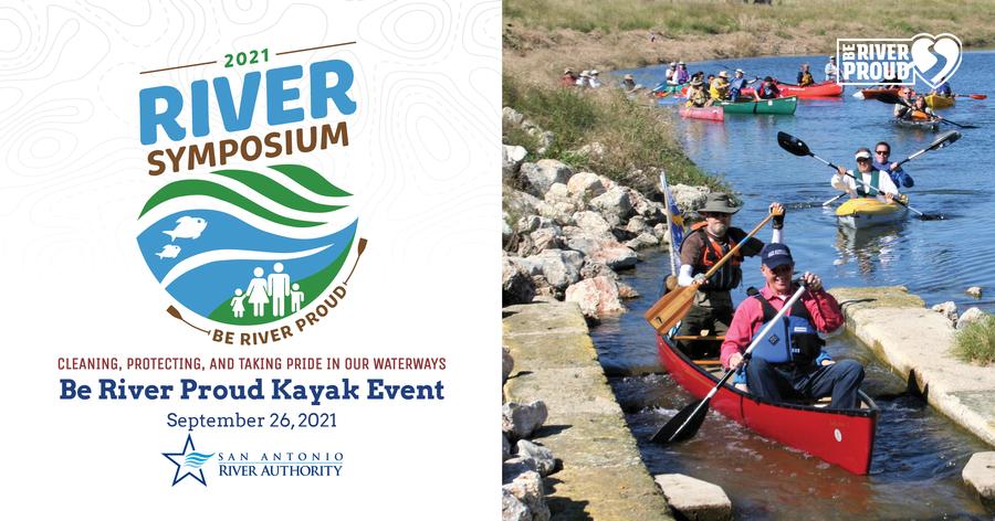 Be River Proud Kayak Event Poster