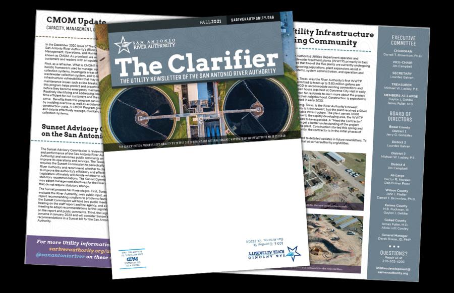 The Clarifier Fall 2021 Newsletter Thumbnail