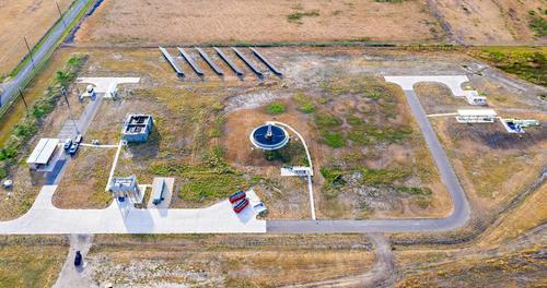 Martinez IV Wastewater Treatment Plant Grounds