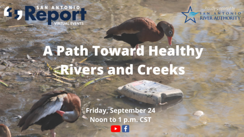 A Path Toward Health Rivers and Creeks promotional graphic from SA Report