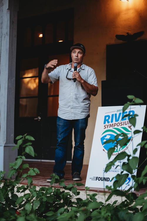 Chad Pregracke at the River Symposium Appreciation Mixer