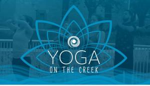 Yoga on the Creek logo and image