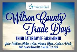 Wilson County Trade Days event flyer