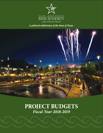 2019 Project Budgets Cover