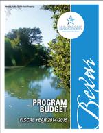 2015 program budget