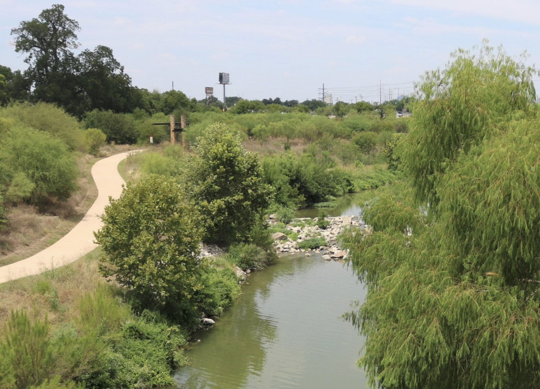 Mission Reach section of the San Antonio River