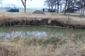 Three-stage channel stream restoration East Saltrillo Creek