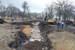 Stream restoration - water quality treatment