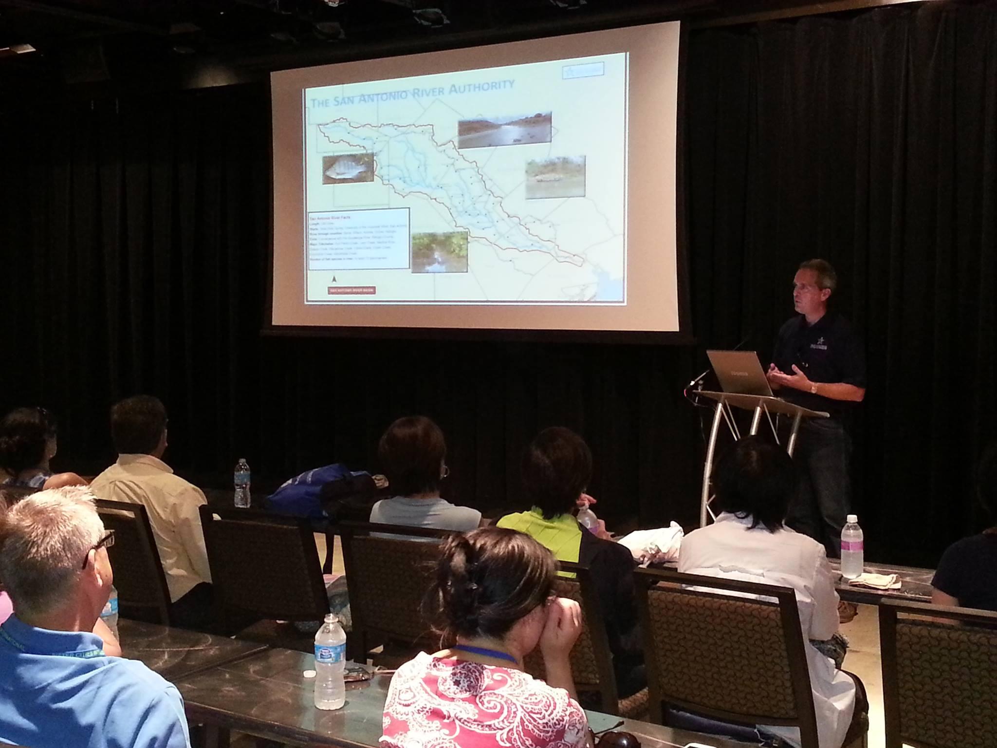 San Antonio River Authority Speakers Bureau Presentation