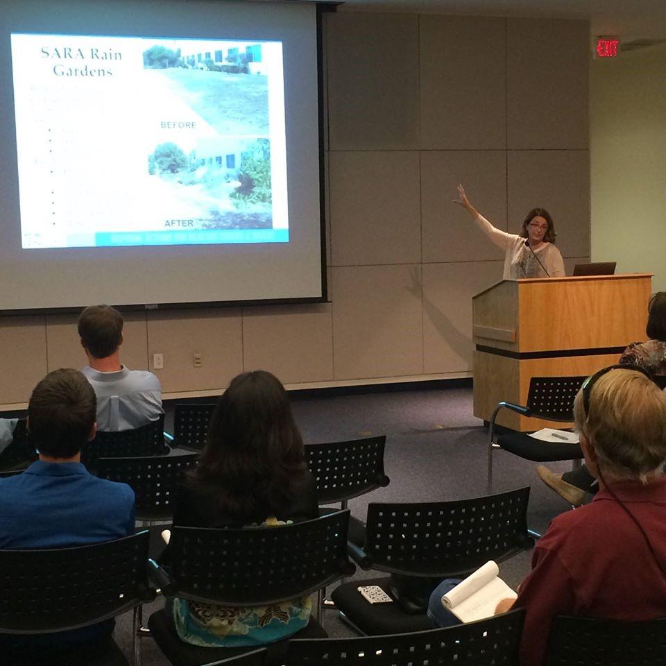 San Antonio River Authority Speakers Bureau Presentation about Sustainability