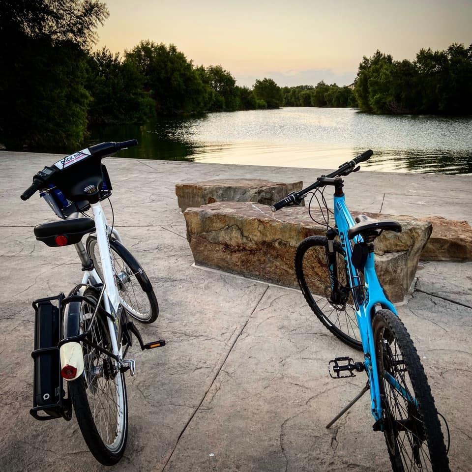 Flor Salas shares bike ride along Mission Reach segment for our Be River Proud blog post